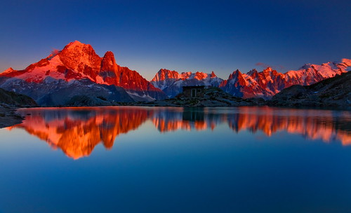 Sunset at Lac Blanc (Explored) | by sunstormphotography.com