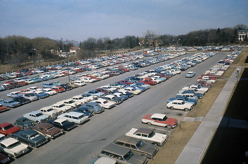 West Lot from ENGG_Early 60s | by UNO Criss Library