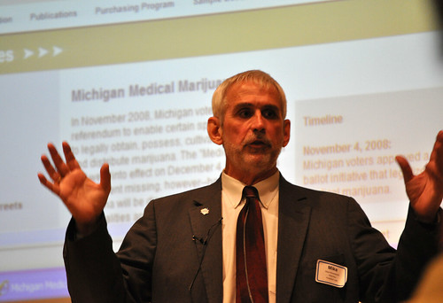 Michael Woodworth of the Hubbard Law Firm Talks About Medical Marijuana Photo by Michigan Municipal League | by Michigan Municipal League (MML)