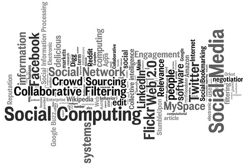 social media, social networking, social computing tag cloud (#1) | by daniel_iversen