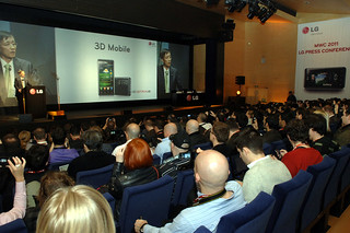 LG Electronics, MWC 2011 - LG Press Conference | by LGEPR