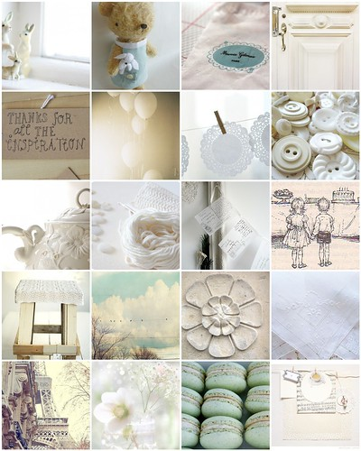A page a day March inspiration: Mostly White | by moline