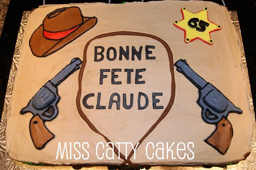 Western Theme Cake Miss Catty Cakes Cake Design Flickr