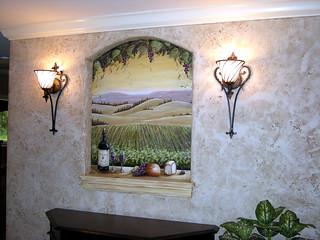 Grape Vineyard Wall Mural