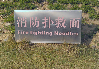Fire fighting Noodles? | by Michael Roberts CA