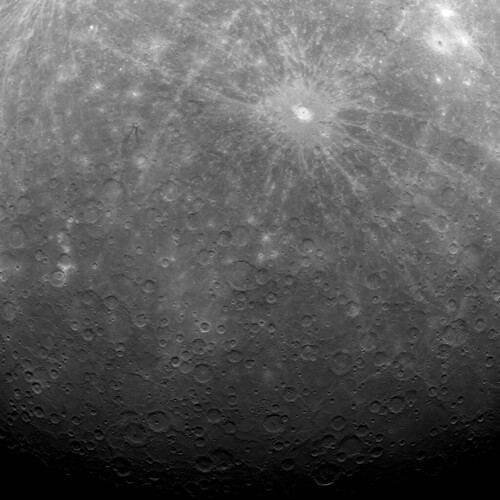 NASA Satellite MESSENGER Sends Back First Image of Mercury from Orbit | by NASA Goddard Photo and Video