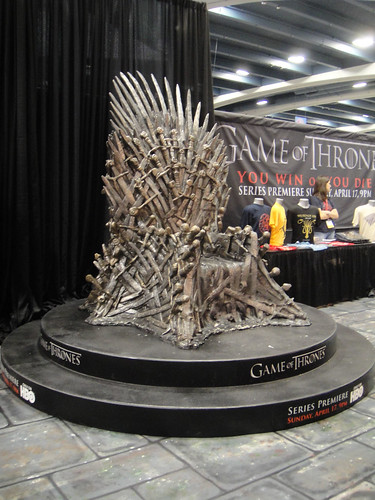 WonderCon 2011 - HBO's Game of Thrones booth | by Doug Kline