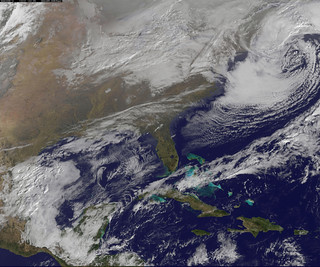 Satellite Image of January 27th Snowstorm | by NASA Goddard Photo and Video