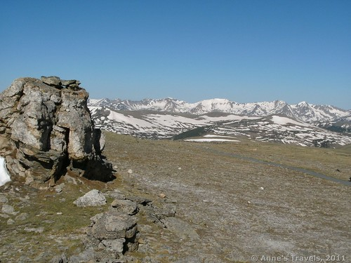 Views from the Toll Memorial (Tundra Communities) Trail in Rocky Mountain National Park, Colorado
