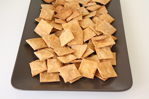 Homemade Wheat Thins | by Tracey's Culinary Adventures