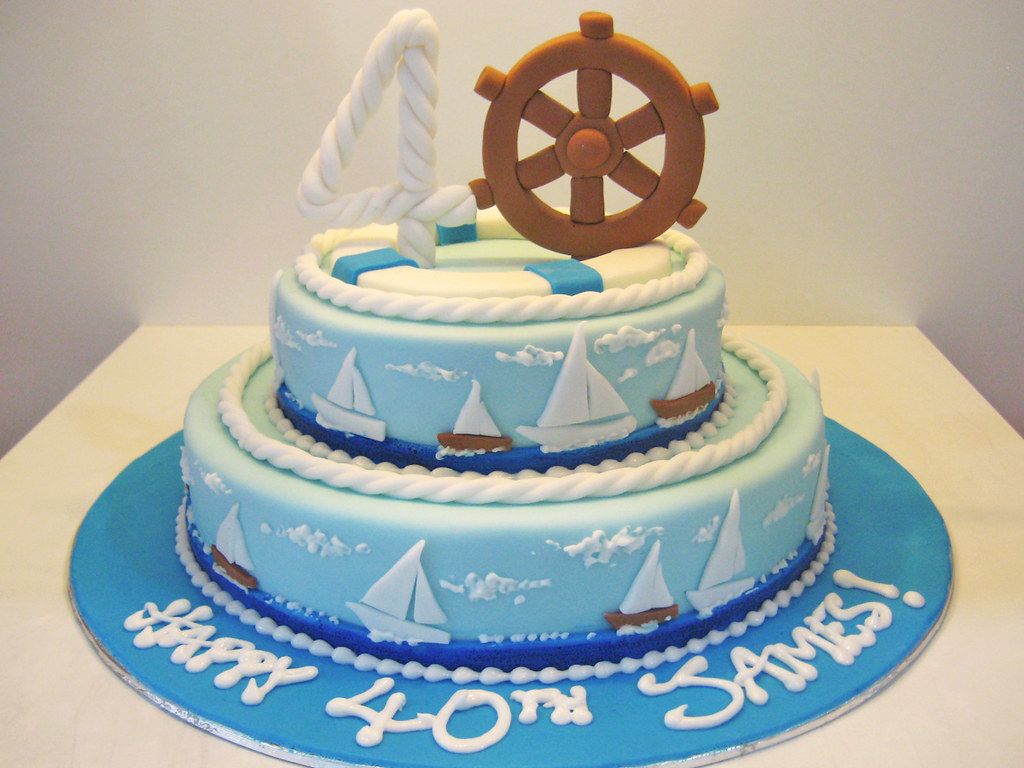 Nautical Birthday The Birthday Party Was On A Yacht Artisan