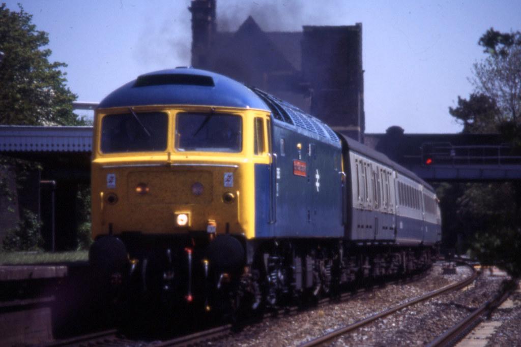 "... Class 47 No.47585 ""County Of Cambridgeshire"" Water Orton 30/5/"