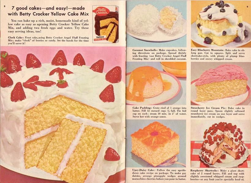 Betty Crocker Yellow Cake Mix Betty Crocker Cake Booklet N Flickr