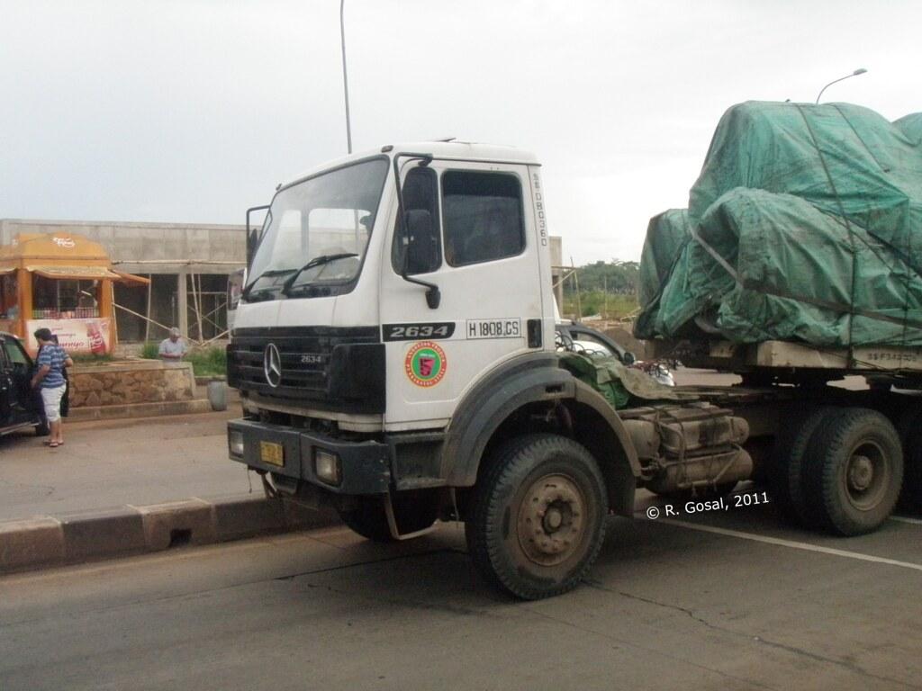 ... Krakatau Steel Mercedes-Benz 2634 6x4   by stuck-in-time