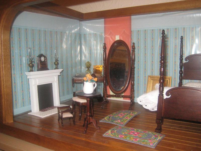 ... Scarlett Ou0027Hara Doll House Bedroom Furniture Franklin Mint   By  Scarlett283