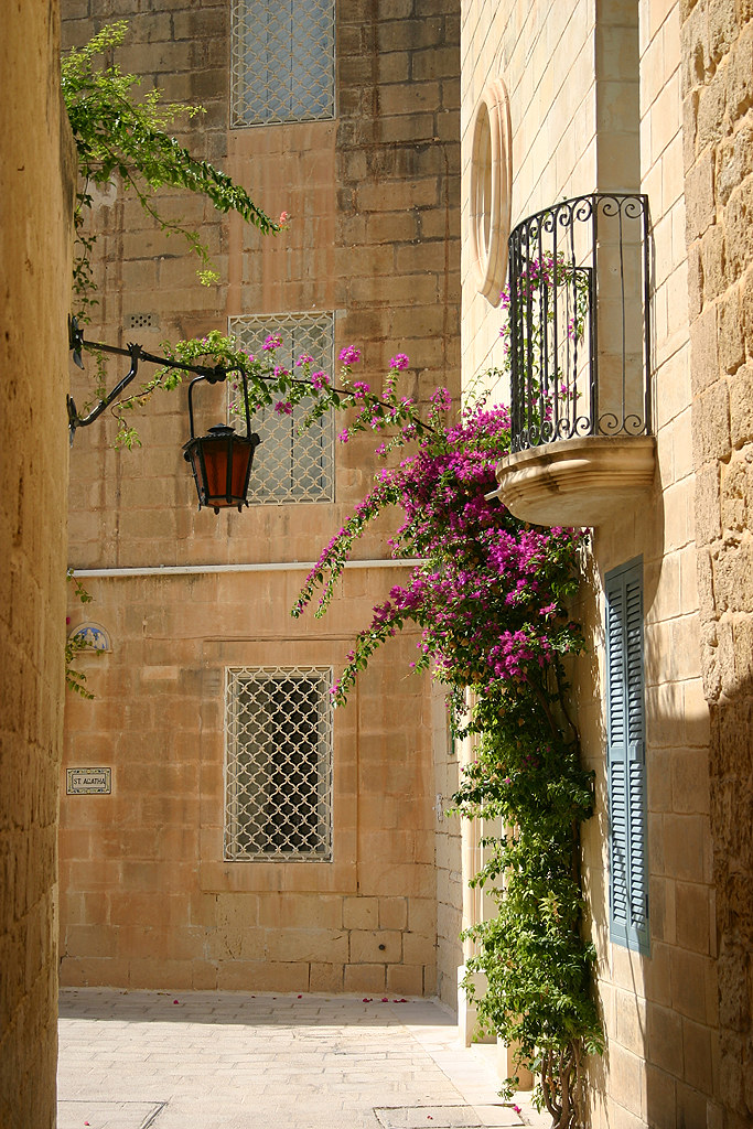 Image result for mdina streets malta
