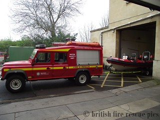 bath landrover and rib angloco call sign FKA 12B1 | by british fire rescue pics