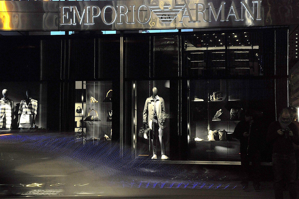 Emporio Armani @ Night, NYC