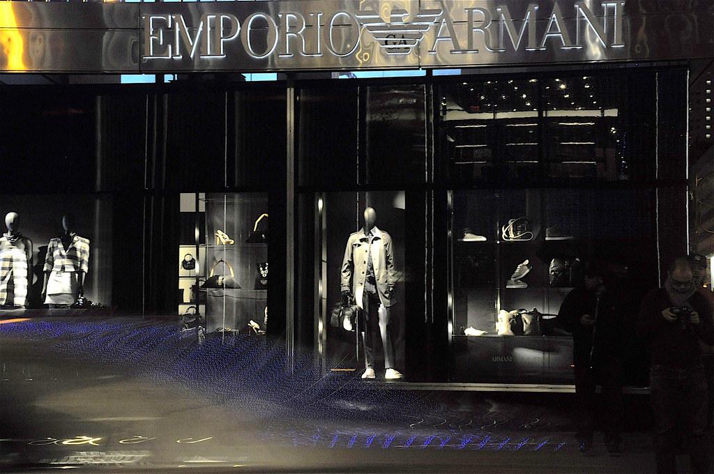 Emporio Armani @ Night, NYC