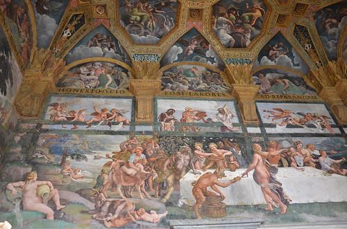 Mantova palazzo te stanza amore e psiche mantova for Stanza mantova