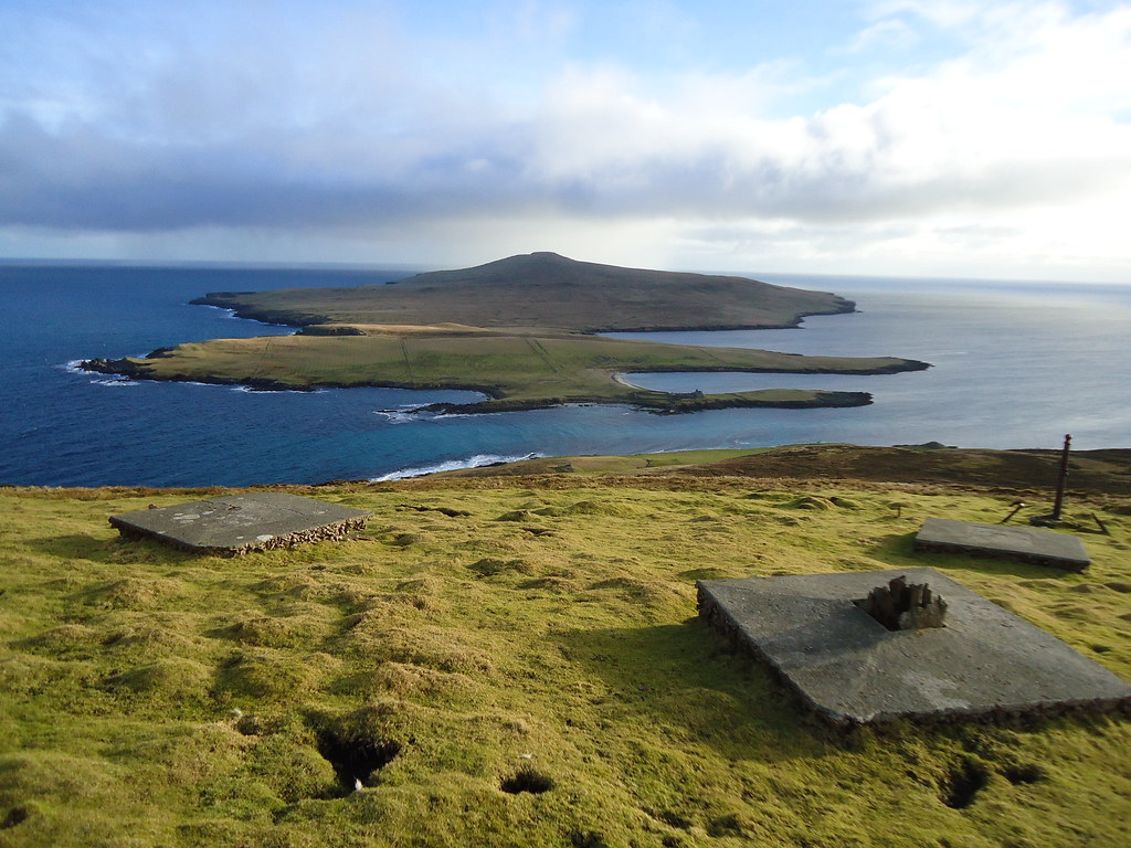of bressay Shetland island guide to bressay and noss read about the islands of noss and bressay in shetland includes kirkabister ness lighthouse and the noup of noss.