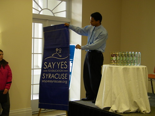 Say Yes to Education Day, 1-22-2011 | by City of Syracuse Flickr