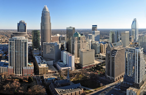 Charlotte skyline from The Vue condos | by James Willamor