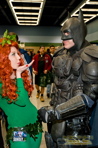 Poison Ivy blows an intoxicating kiss at Batman | by Hieroglyph Photography