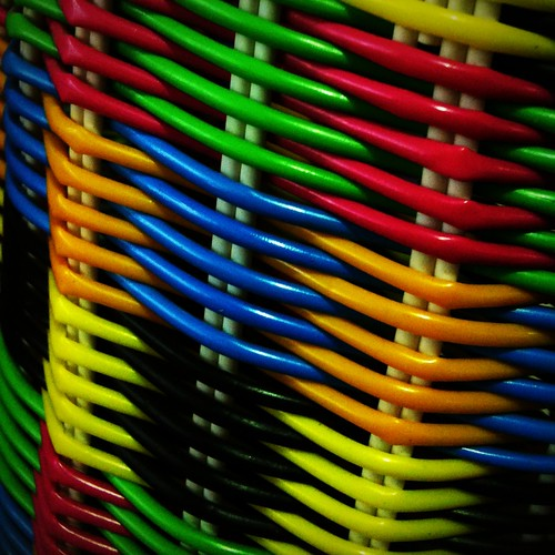Basket Weaving Adelaide : Basket weave bright woven encountered at a