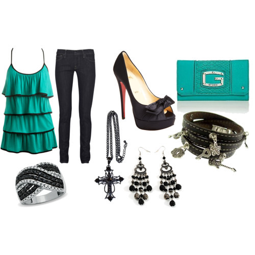 teenage girl party outfit | by hopefuldisneyprincess1