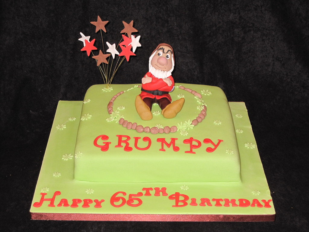 By Heidis Cakes Of Lechlade Grumpy Old Man Cake