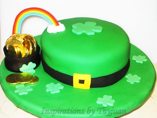 St. Patricks Day Cake 2 | by Inspirations by Thyjuan