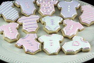 Baby Shower Cookies | by bakingjunkie