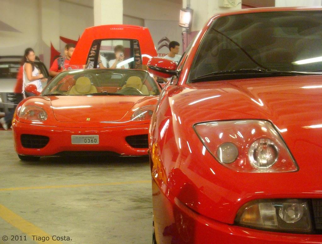 fiat coupe & ferrari f360 spyder | ''pininfarina design | tiago