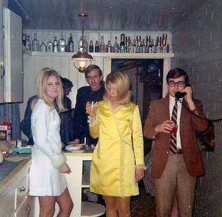 1968 party (found photo) | by retrospace.org