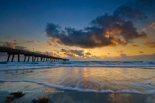 Florida Sunrise Dania Pier | by simonrim