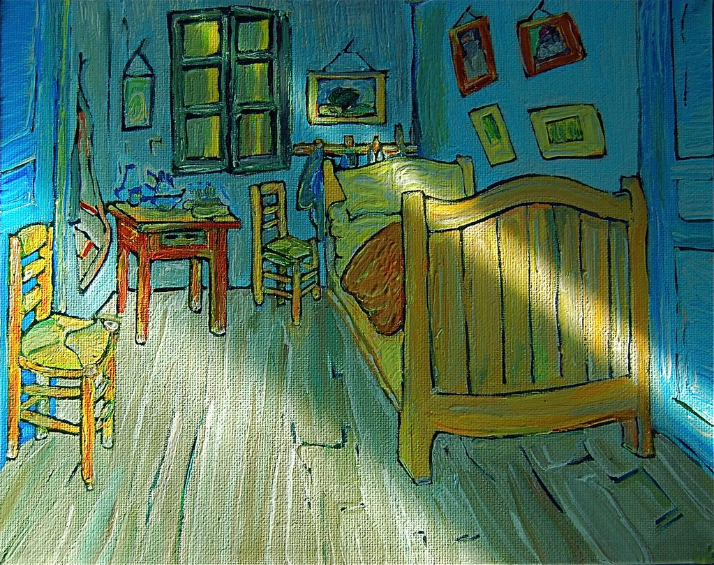 Vincent van Gogh\'s Bedroom by Tomitheos   \