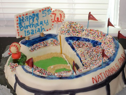 Isaiah's Nats Cake | by katiejeanbags
