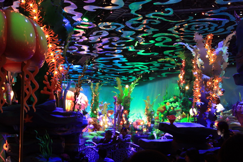 Triton's Kingdom, Mermaid Lagoon, Tokyo DisneySea
