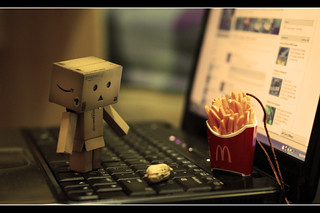 danbo confused | by Danny Kurniawan