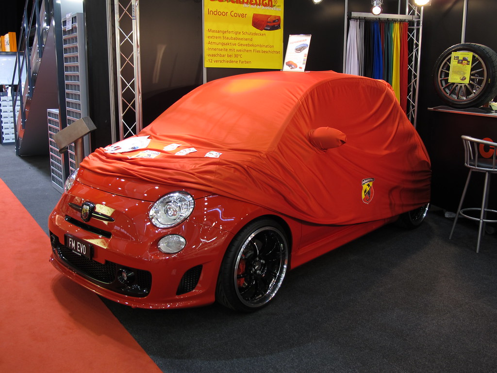 Fiat 500 Abarth car cover   Alan Gore   Flickr