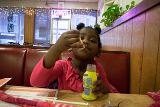 Drinking Chocolate Milk Chinese Restaurant March 17, 20113 | by stevendepolo