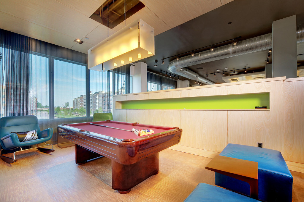 ... Aloft Richmond Westu2014re:mix Lounge   Pool Table | By Aloft Hotels And