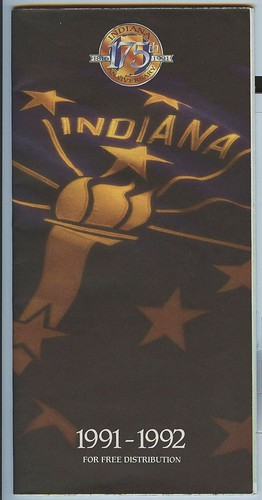 Indiana Highway Map-1991~1992 | by Alan C of Marion,IN