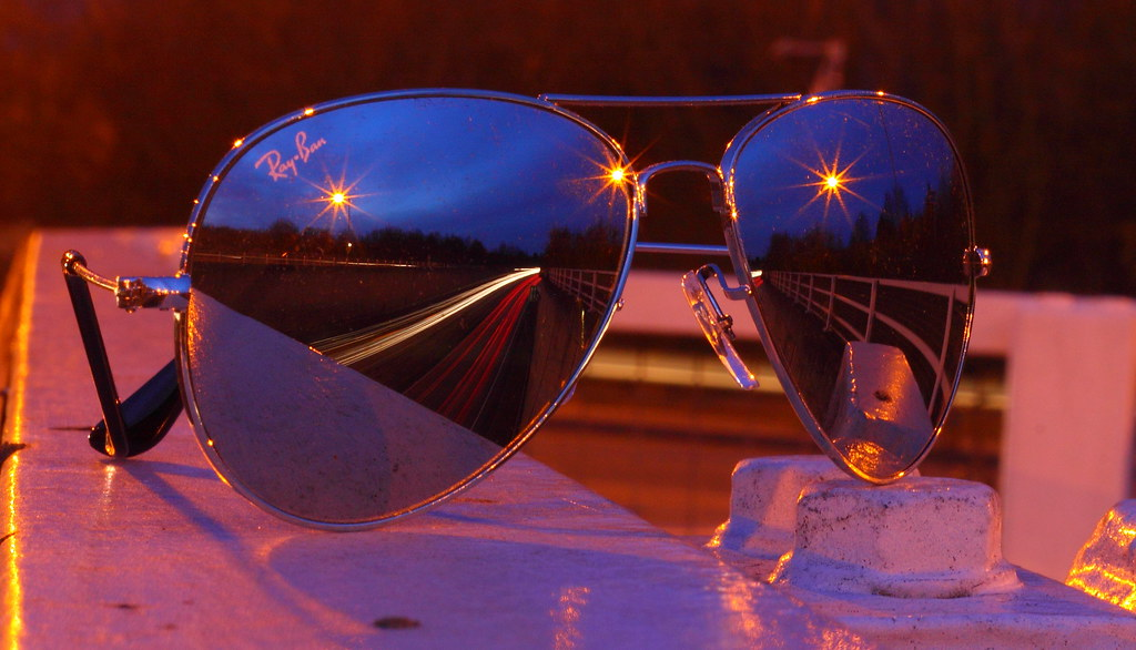 ray ban mirrored aviators 2017