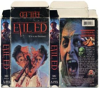 Evil Ed (VHS Box Art) | by Aeron Alfrey
