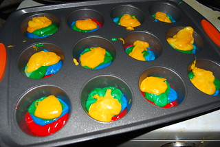rainbow cupcakes. | by Faye✩ Mous