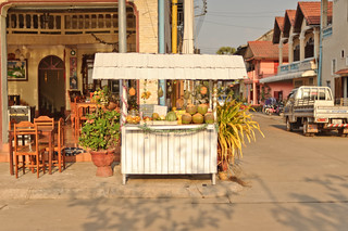 Thakek Fruit Stand | by goingslowly