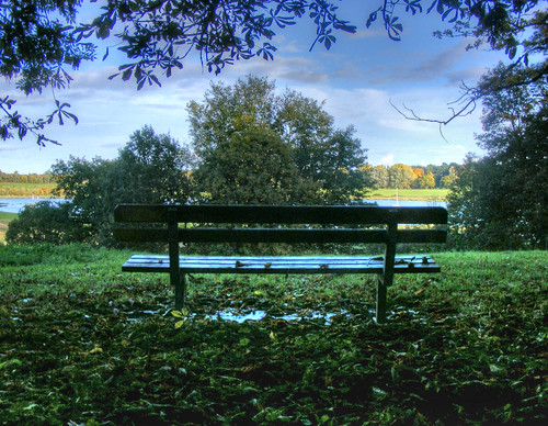 View from a bench - Woodbridge | by Pete Sturman