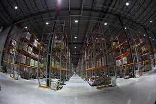 Balzac Fresh Food Distribution Center - Concrete Floors/LED Lights | by Walmart Corporate